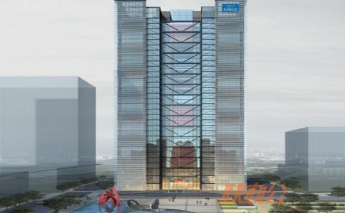 深圳WeWork中建钢构大厦